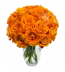 24 Orange Roses  Online Order to Cebu Philippines