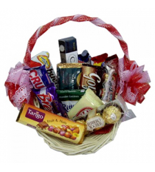 Send Assorted Chocolate Lover Basket-06 to Cebu Philippines