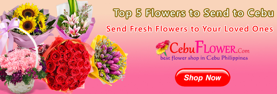 Top 5 Flowers to Send to Cebu