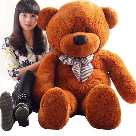 5 Feet Brown Teddy Bear Send to Cebu City Giant Online