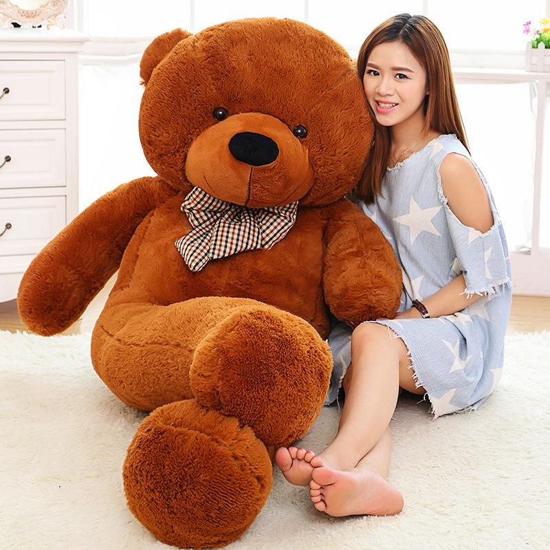 delivery 6 feet brown giant teddy bear to cebu