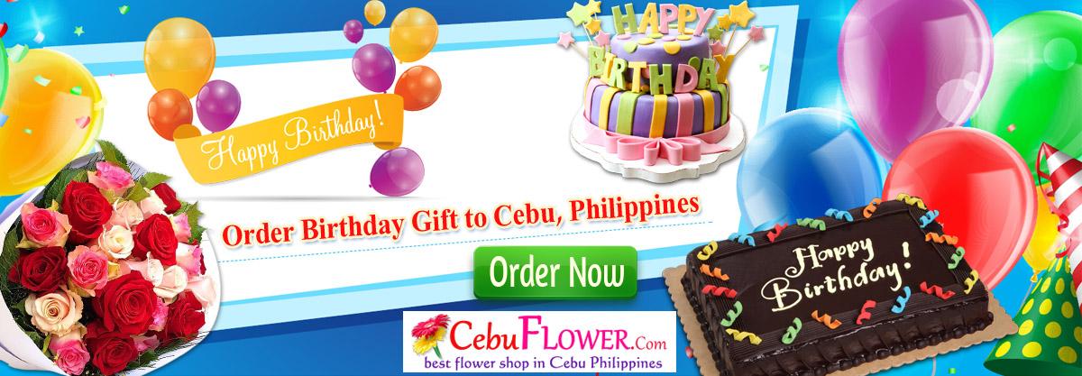 send birthday gift to cebu, philippines