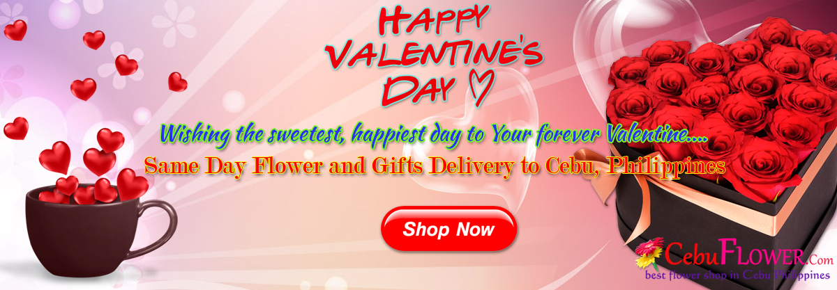 send valentines flower and gifts to cebu