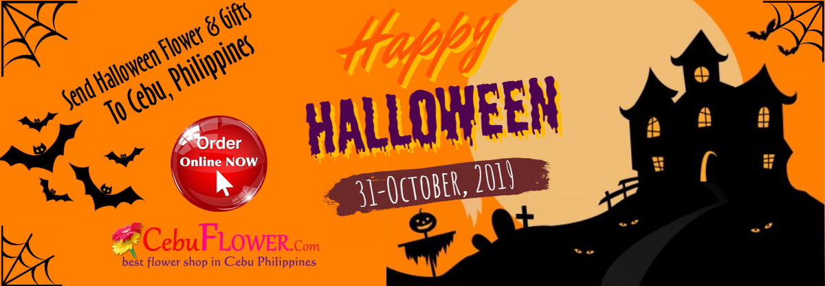 send halloween flower and gifts to cebu philippines
