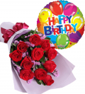 Send Flower with Balloon to Cebu Philippines