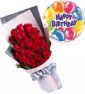 Send Birthday Flower with Balloon to Cebu Philippines