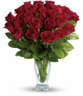 2 Dozen Roses Vase