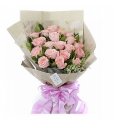 24 Pink Roses Online Order to Cebu Philippines