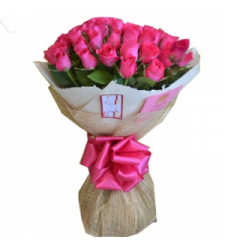 12 Pink Roses Bouquet Delivery to Cebu Philippines