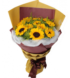 Sunflower Wishes Online Order to Cebu Philippines