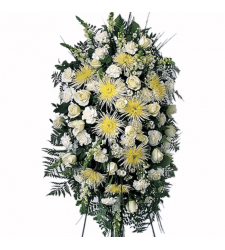 Canadaian White Spray Arrangement Online Order to Cebu Philippines
