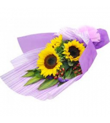 Shining 3 Stems Bouquet Online Order to Cebu Philippines,Flowers to Cebu Philippines