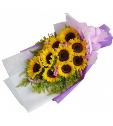 Shining Flowers Bouquet 12 Stems  #15