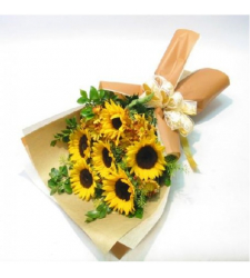 Shining Flowers Bouquet 10 Stems Online Order to Cebu Philippines,Flowers to Cebu Philippines