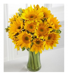 Sunflower Bouquet Online Order to Cebu Philippines,Flowers to Cebu Philippines
