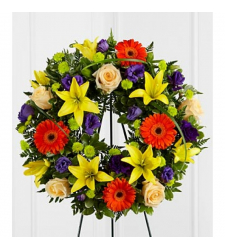 Send Joyous Life Wreath To Cebu