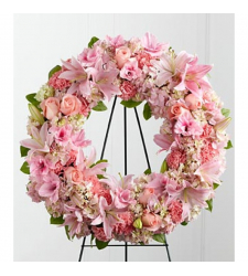 Send Roseate Wreath To Cebu
