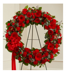 Send Classic Red Wreath To Cebu