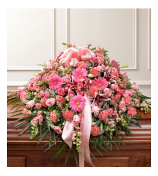 Send Lavishly Pink Casket Spray To Cebu