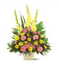 Send Warm Thoughts Arrangement To Cebu