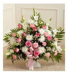 Send Flamingo Sympathy Basket To Cebu