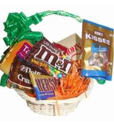 Send Basket of full chocolates to Cebu Philippines