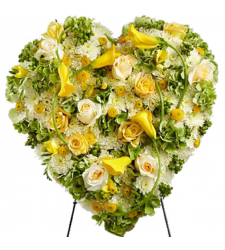Send Radiant Shades Heart Wreath To Cebu
