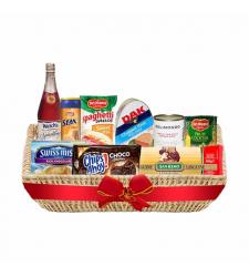 Delightful Christmas Deluxe Basket