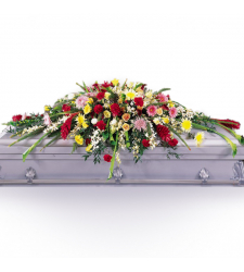 Send Blanket of Flowers Casket Spray To Cebu