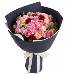 48 mix roses bouquet to cebu