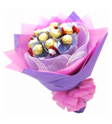 12pcs Ferrero Rocher in Bouquet Delivery in Cebu