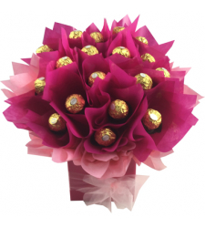 24pcs Ferrero Rocher in a Bouquet to Cebu Philippines