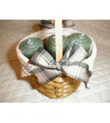 6 Pcs Candles In A Basket! to Cebu City