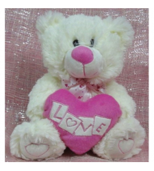 ​White Love Bear Send to Cebu City