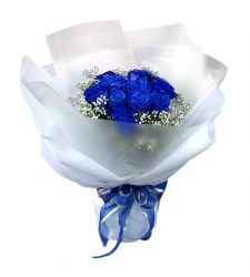 send 12 blue rose arrangements to cebu