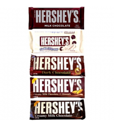 Hershey's Milk Chocolate 43g, 6s