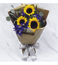 send bouquet of 3 stems fresh sunflower to cebu