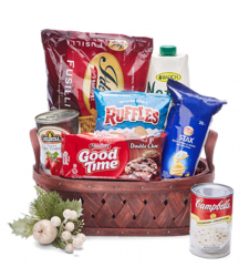 Holiday Grocery Gift Basket - 02