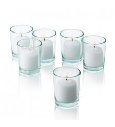6 pcs wonderful candles with glass holder! Cebu City