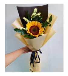 send bunch of single sunflower bouquet to cebu