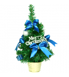 send 30cm blue mini decorated christmas Tree to cebu
