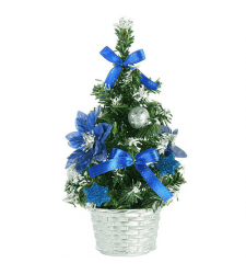 send 45cm blue small table top christmas tree to cebu