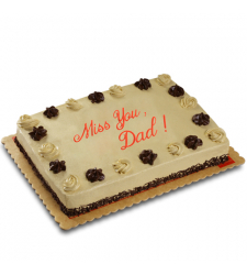 fathers day mocha dedication cake by red ribbon to cebu