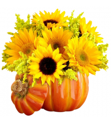 send pumpkin harvest centerpiece to cebu philippines