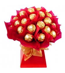 24 Pcs of Ferrero Chocolates Bouquet
