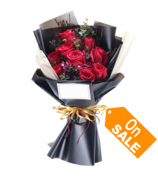 send 9 red roses bouquet to cebu philippines