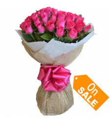 24 pink rose bouquet delivery to cebu