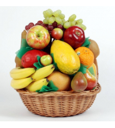 Send Flower with Seasonal Fruit Online Order to Cebu Philippines