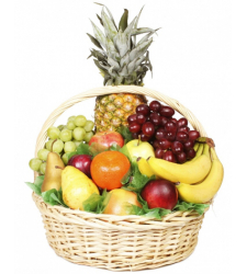 Exquisite Fruit Basket Online Order to Cebu