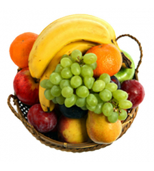 Heart Fruit Basket Online Order to Cebu